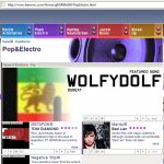 Besonic.com features wolfydolf - Dubeat