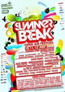Afis Summer Break 2008